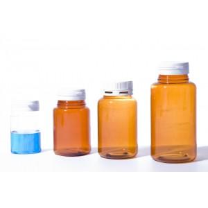 Pilulier PET Cristal ou Ambre