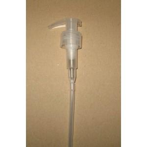 Pompe Dispenser 24 410 Naturelle avec clip de sécurité naturel