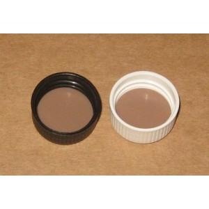 Capsule PP28 Noire Striée JT Téflon PTFE Forme Basse