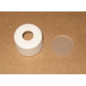 Capsule Percée PP28 PP Blanche Inviolable à jointer avec Joint Versillique