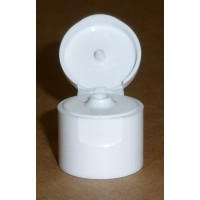 Capsule Charnière GL18 Blanche Trou3mm ouverte