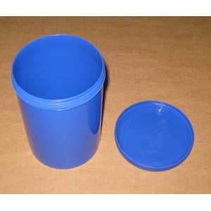 Pot PEHD Bleu 1000ml