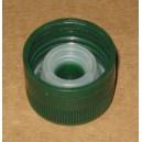 Bouchon goutteur PP31,5 Vert Inviolable