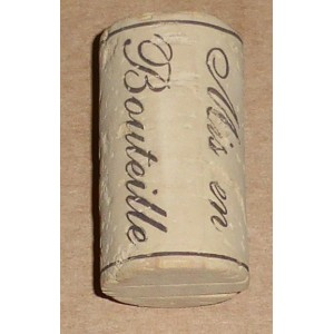 Bouchon vin synthetique