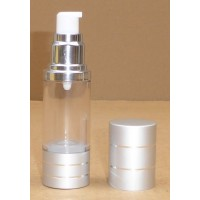 Airless PMMA Cristal 15ml et 30ml