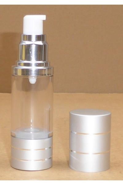 Airless PMMA Cristal 15ml et 30ml